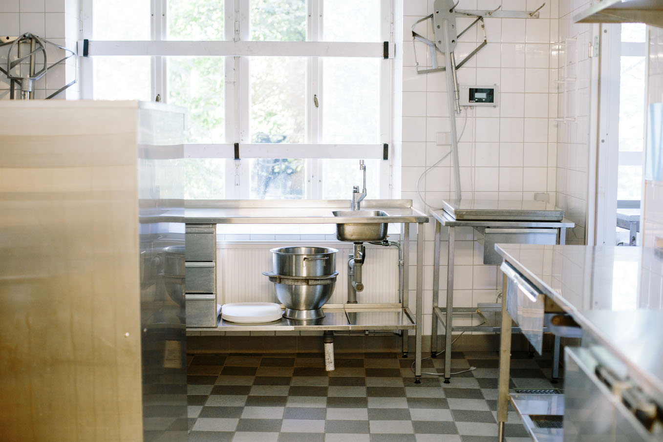 Köket används nu fem-sex gånger per år. Foto: Marie Lissdaniels